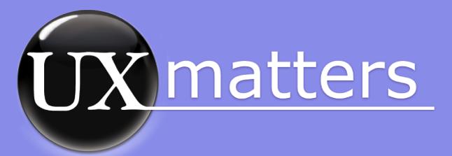 UX Matters Logo
